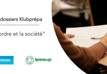 L'ordre et la société (Copie culture générale) – Dossiers Klubprépa