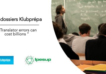 Translator errors can cost billions – Dossiers Klubprépa
