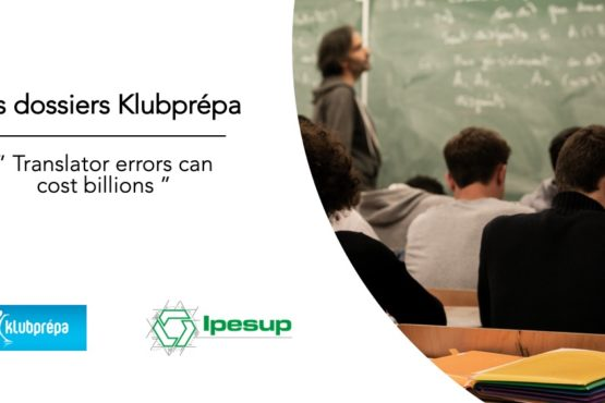 Translator errors can cost billions – Dossiers Klubprépa