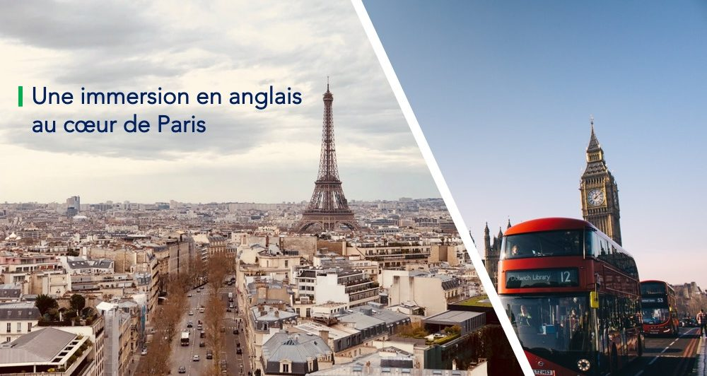 English summer session : une immersion en anglais au cœur de Paris