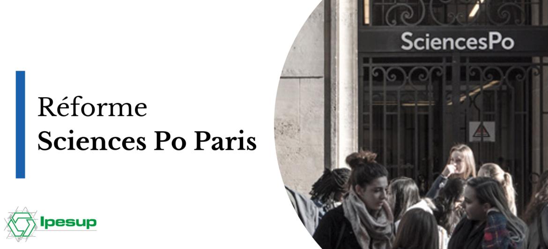 Réforme Sciences Po Paris