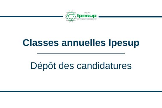 Classes annuelles : ouverture des candidatures