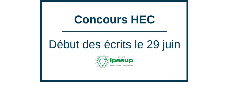 Concours HEC : ultimes révisions avant les écrits